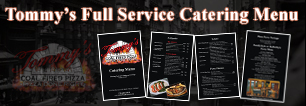 New Jersey Catering, Tommy's Coal Fired Pizza, Catering