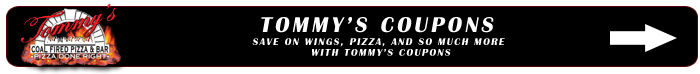 tommy's coal fired pizza